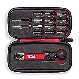 Feedback Sports Range Drehmomentschlüssel mit Bit-Set, Unisex, Erwachsene, Rot/Silber/Schwarz, Uni- Werbung -