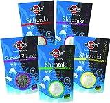 MIYATA Shirataki Mischkarton mit 5 verschiedenen Sorten, Nudeln aus Konjakmehl, Low Carb, 1er Pack (1 x 1350 g)- Werbung -