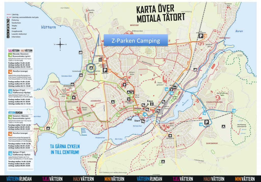 z-parken karte