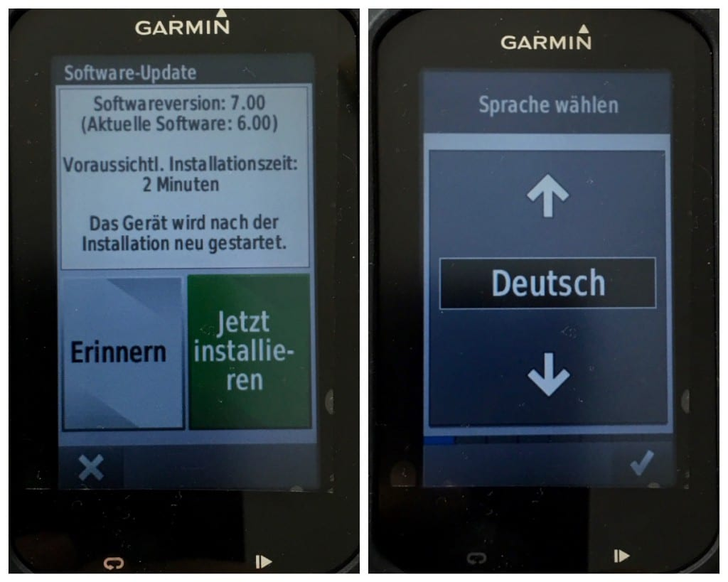 Garmin Edge 1000 Update 7