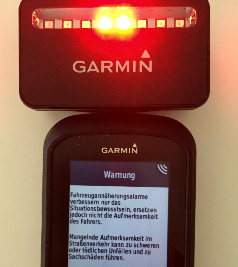 Warnhinweis Varia Radar
