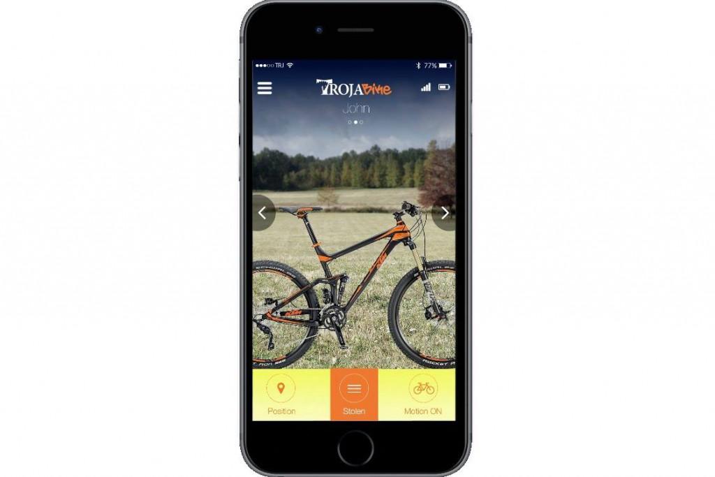 Troja Bike App