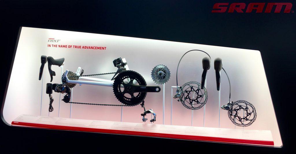 SRAM Red eTap hydraulische Scheibenbremsen