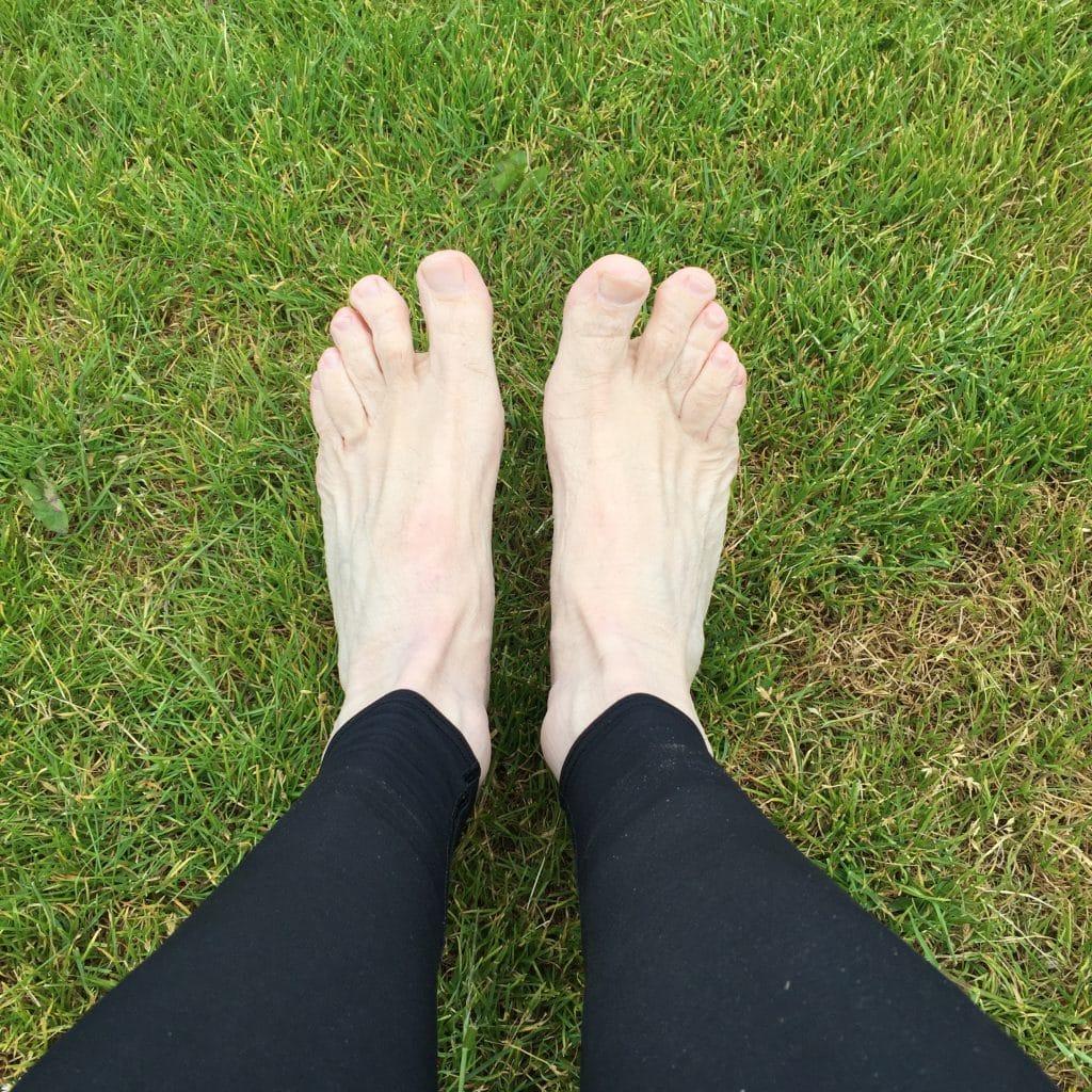 Nasse Füße