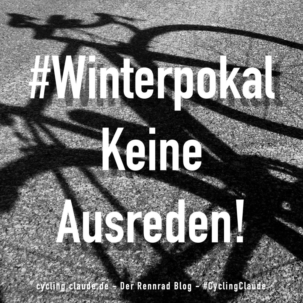 cyclingclaude winterpokal keine ausreden