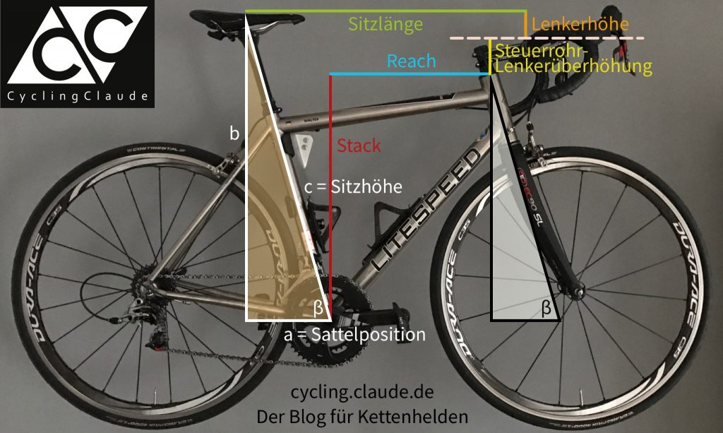 Bikefitting Infografik