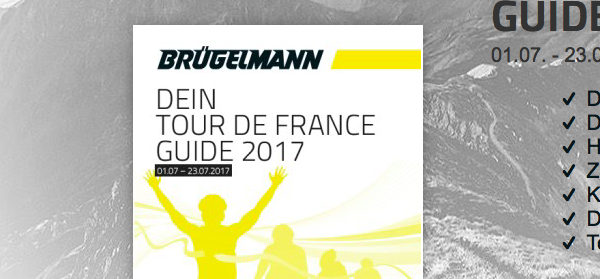 Vorfreude auf die Tour de France mit bruegelmann.de