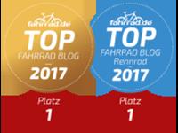Top Fahrrad Blog 2017 Sieger Gewinner CyclingClaude