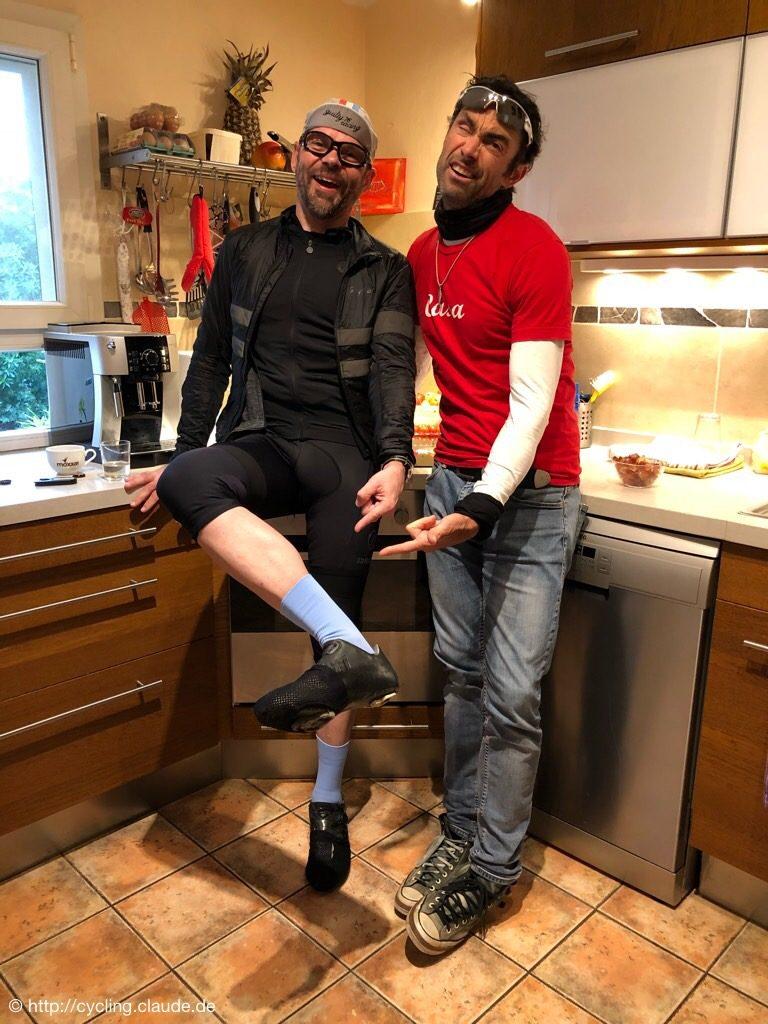 Claude mit Marcel Wüst