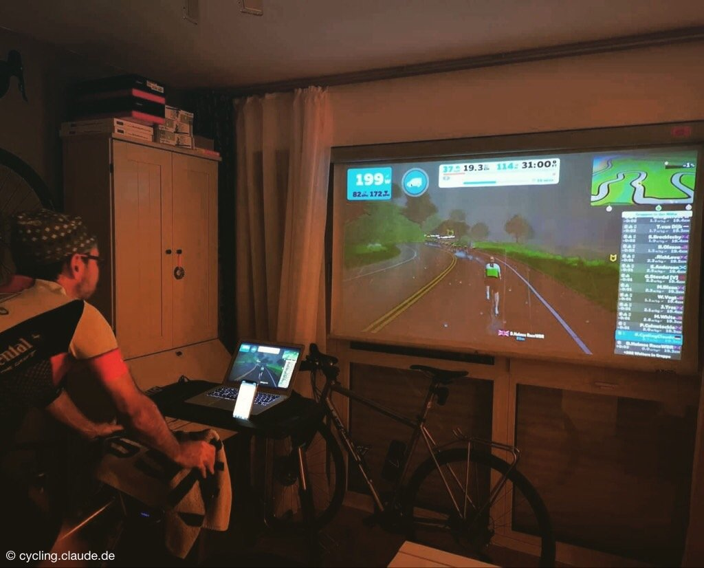 Zwift CyclingClaude