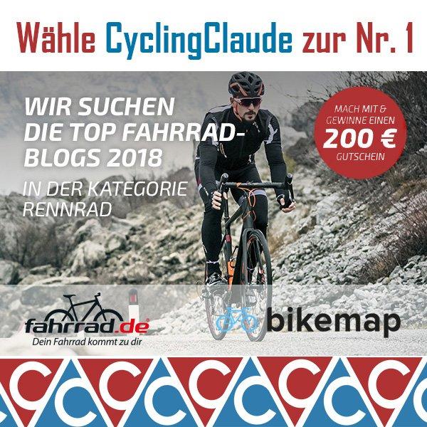 TOp Fahrrad Blog 2018 CyclingClaude wahl