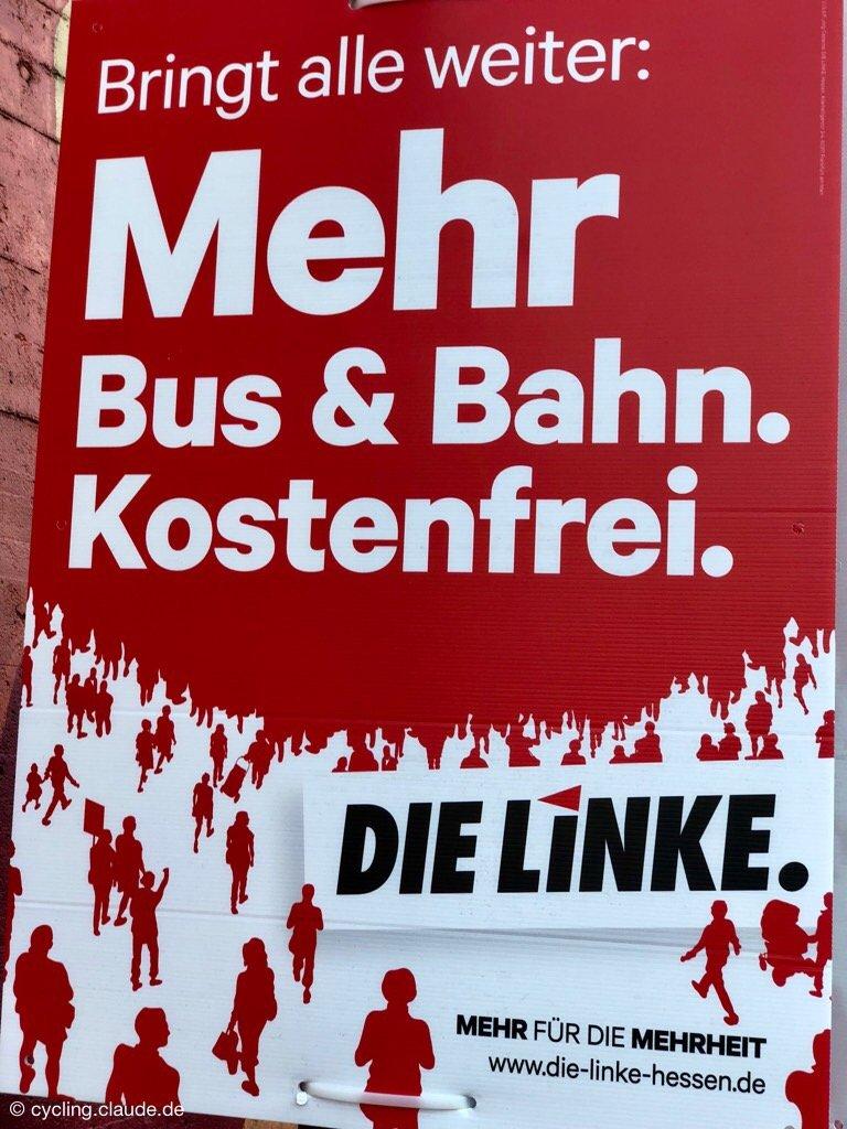 Die Linke Plakat