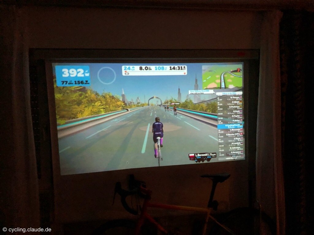 Zwift Claude New York
