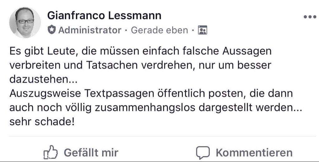 Gianfranco Lessmann
