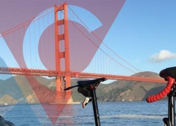 San Francisco Rennrad Faltrad