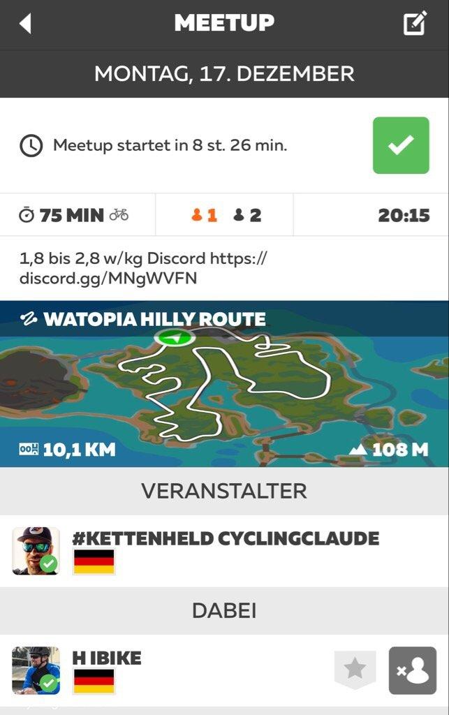 Zwift Meetup CyclingClaude