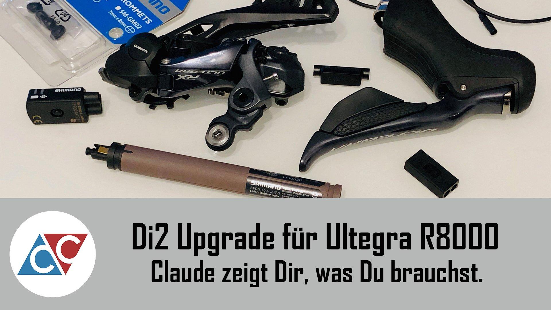 Ultegra R8000 Di2 Upgrade