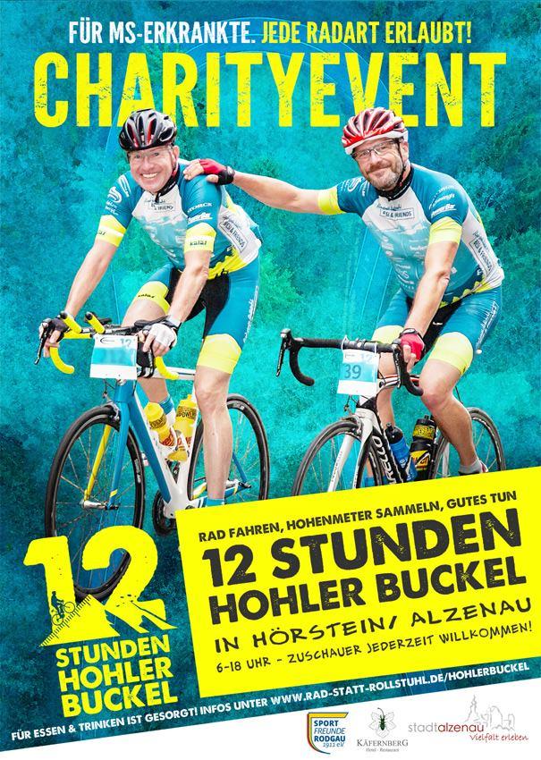 Charity mit CyclingClaude 12 Stunden Hohler Buckel 2019
