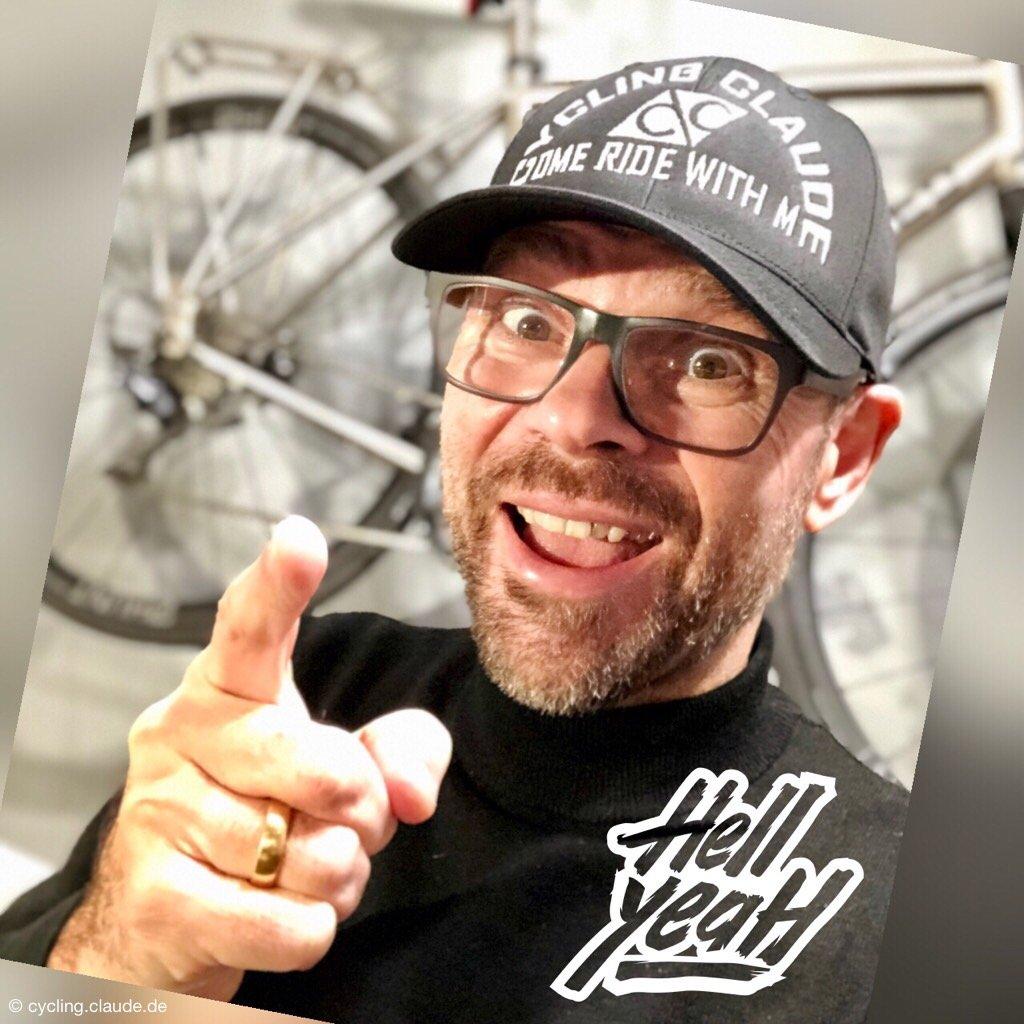CyclingClaude Cap