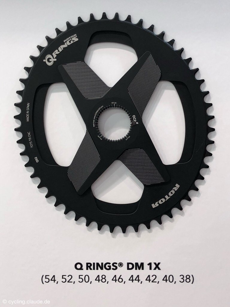Rotor Direct Mount Rennrad Kettenblatt Q-Ring