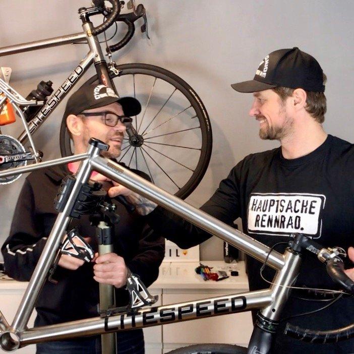 Harry und Claude Die Rennrad-WG