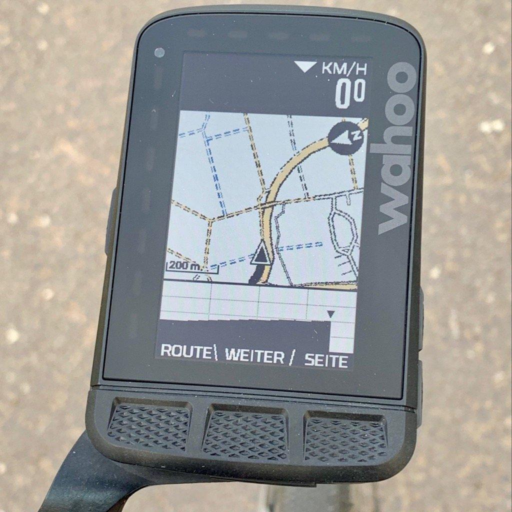Wahoo ELEMNT ROAM Navigation