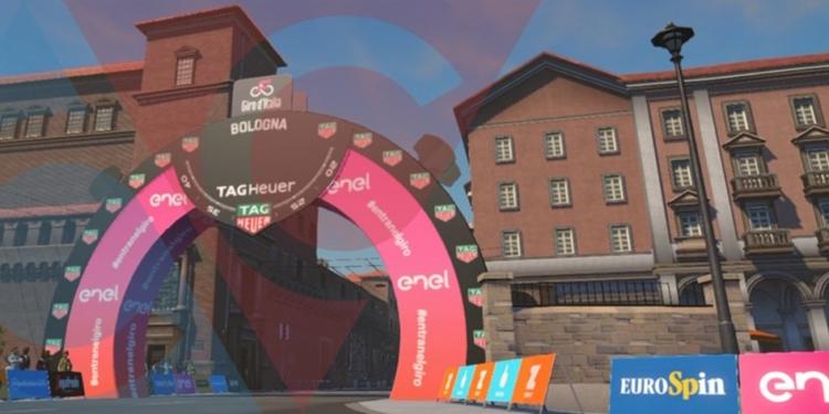 Zwift Giro d'Italia Bologna