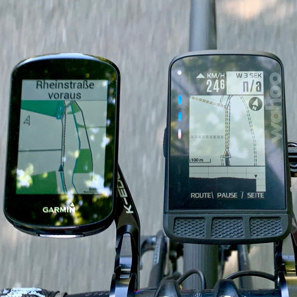 Garmin Edge 830 Display