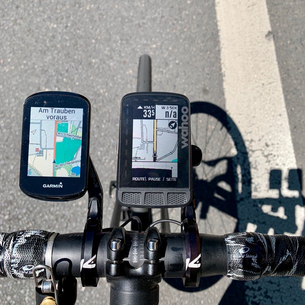 Garmin Edge 830 vs. Wahoo ELEMNT ROAM