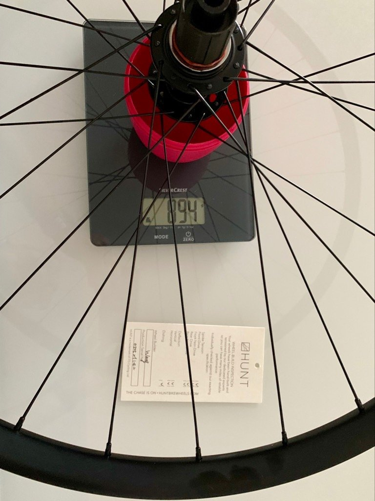 Gewicht Mason X HUNT 650B