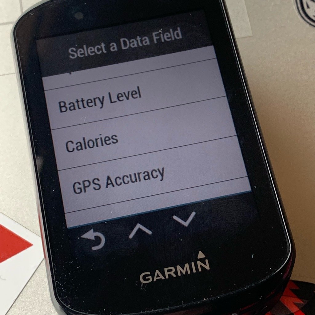 Garmin Edge 830 set-up