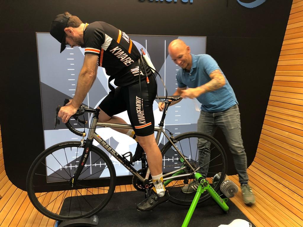 Jens Machacek Biometrie Bikefitting Radschuheinlage