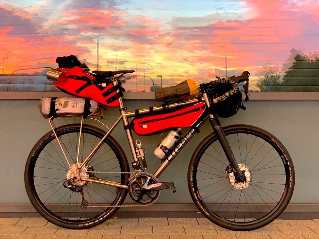 Litespeed Cherohala Bikepacking