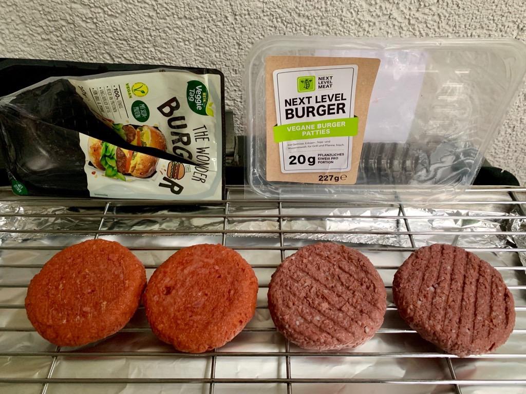 Aldi LIDL vegane Burger