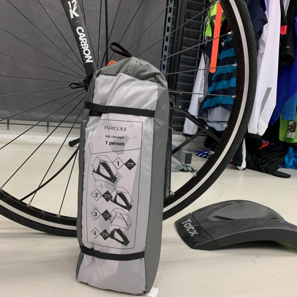Packmaß Ultralight Zelt Decathlon Trekking