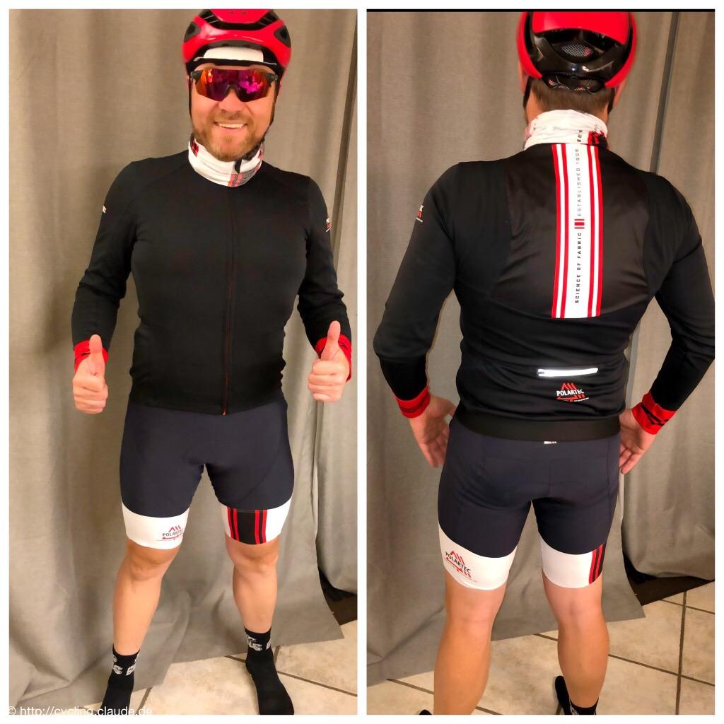 CyclingOlli im Race Kit von Polartec