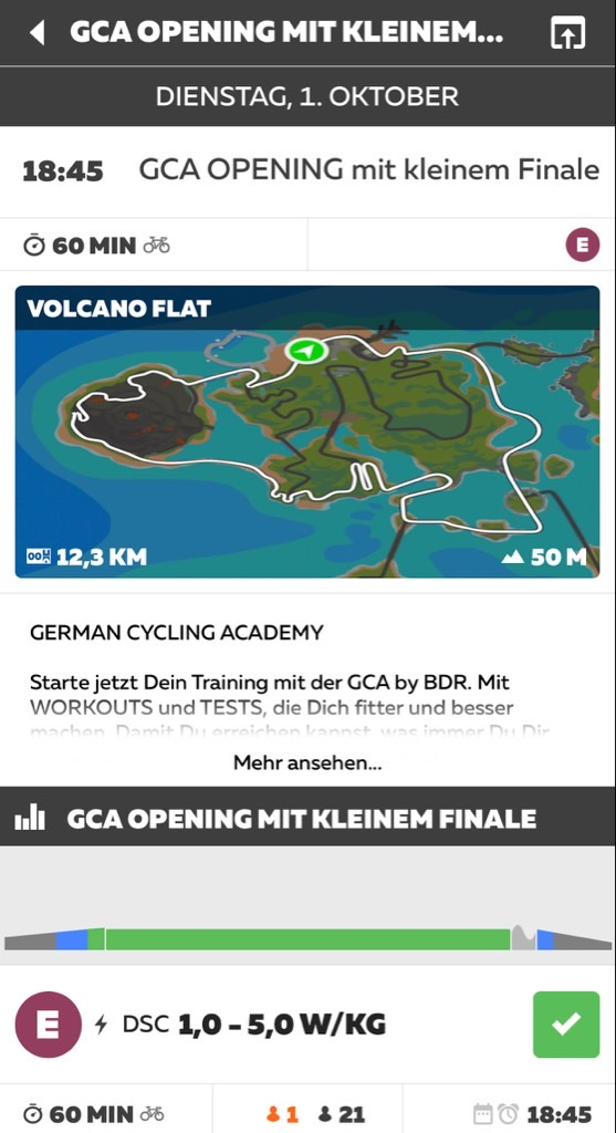 GCA German Cycling Academy Opening Ride