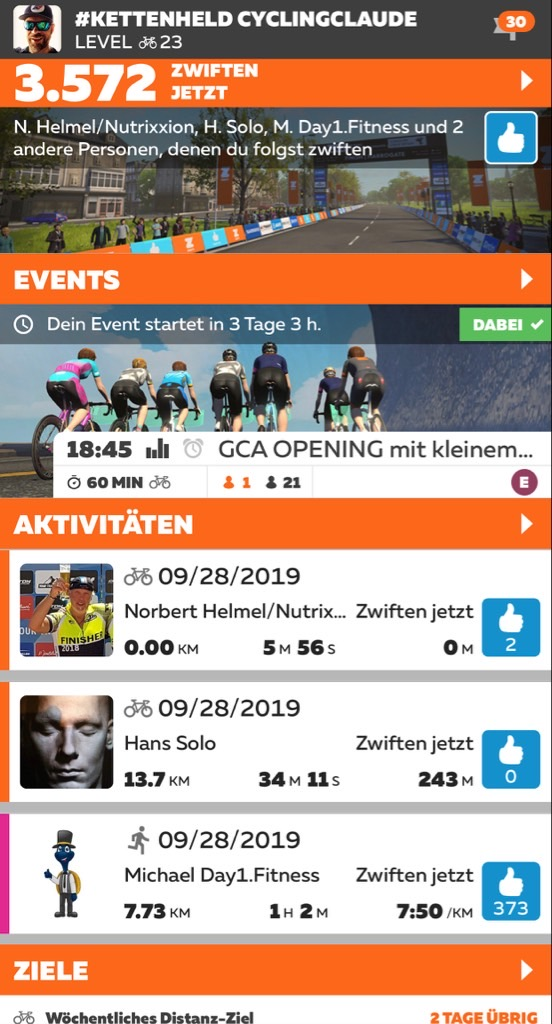 German Cycling Academy Zwift