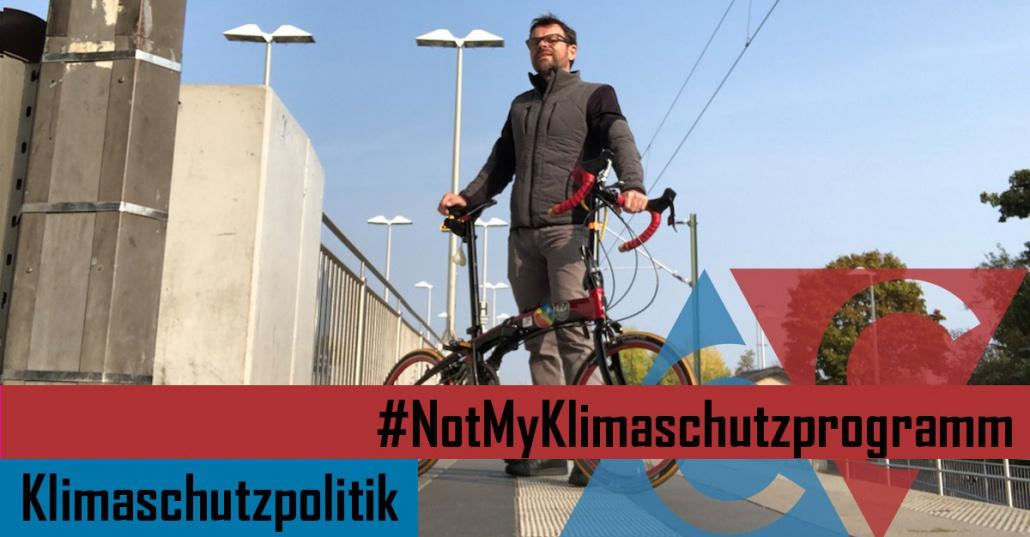 #NotMyKlimaschutzprogramm