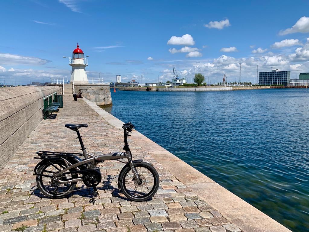 E-Faltrad in Malmö