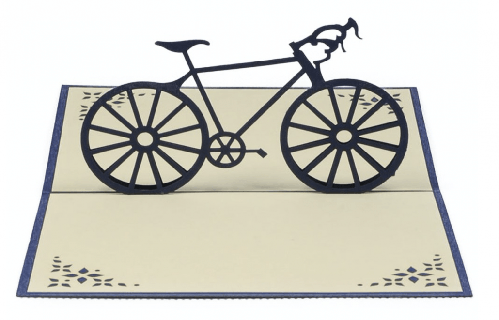 Grußkarte Rennrad
