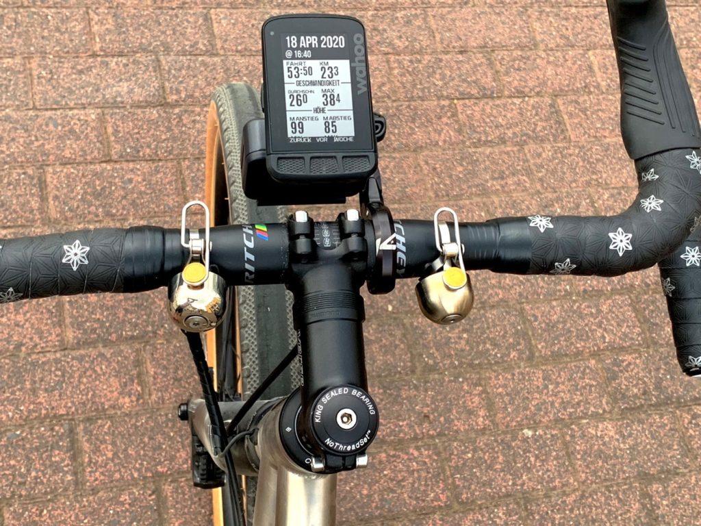Spurcycle gegen Rockbros Klingel