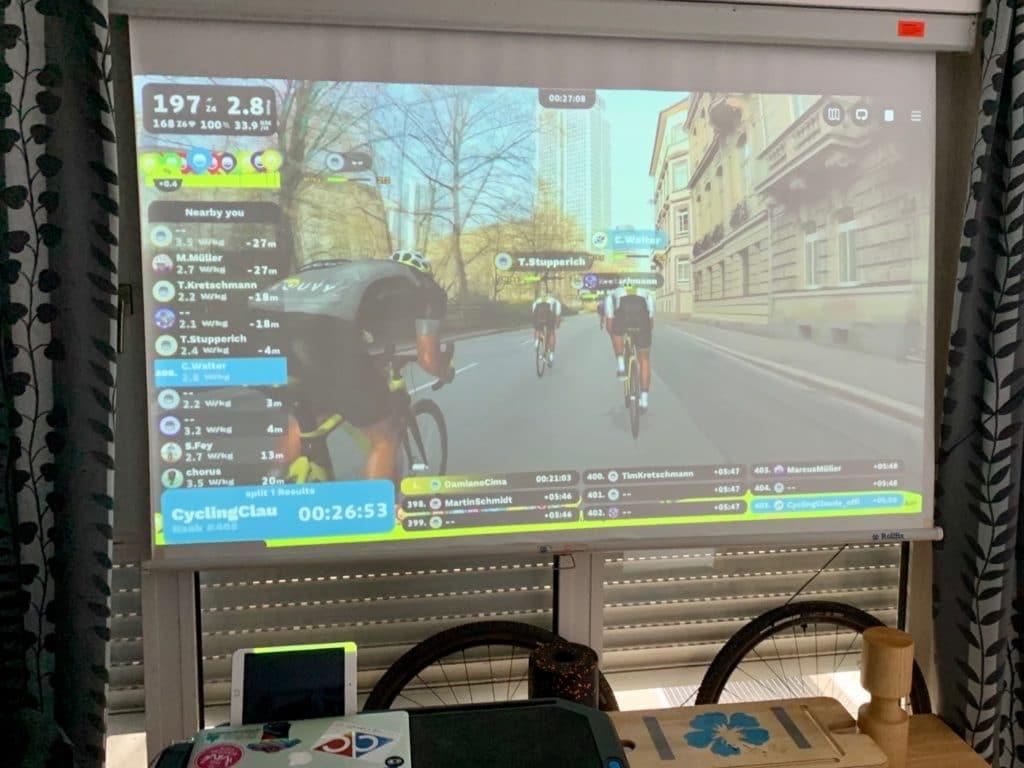Rouvy Eschborn-Frankfurt E-Race
