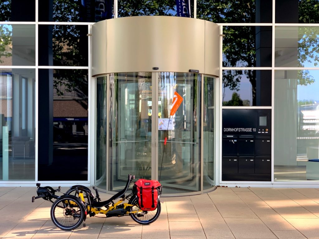 HP velotechnik bike to work