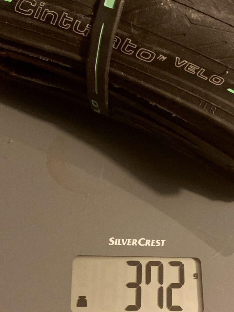 Gewicht Pirelli Cinturato Velo 32 mm