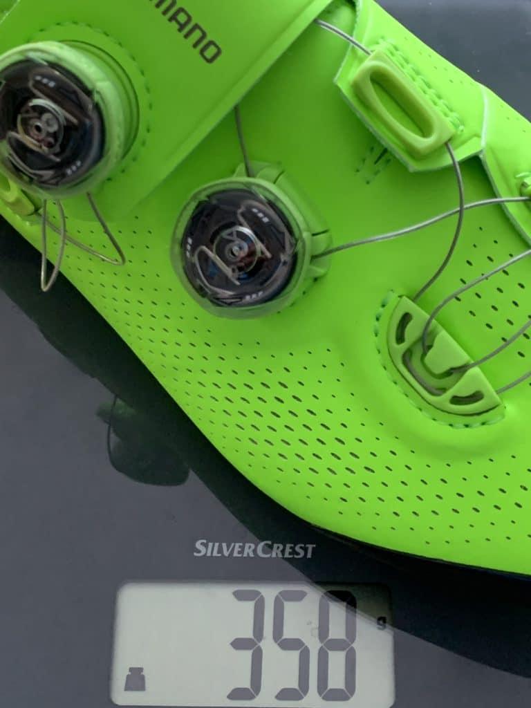 Shimano S-Phyre XC9 Gewicht mit Cleats