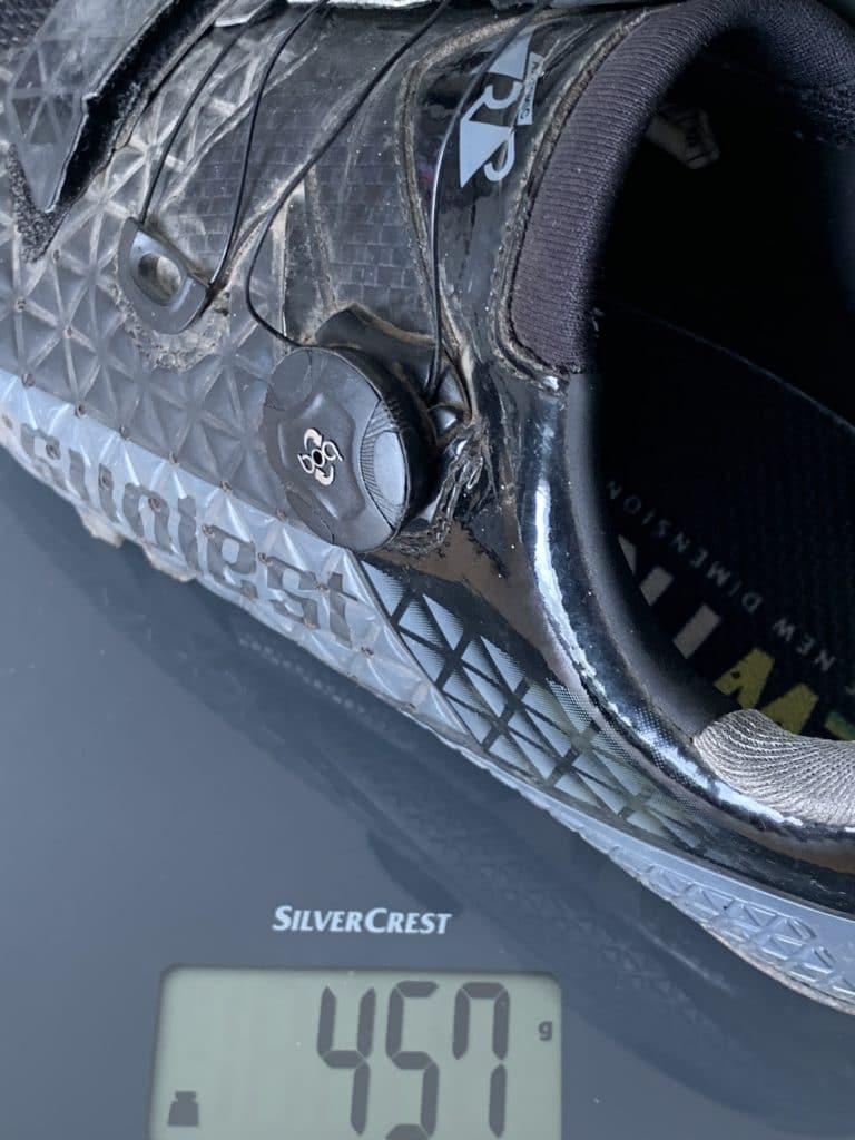 Suplest Schuhe Gewicht mit Cleats