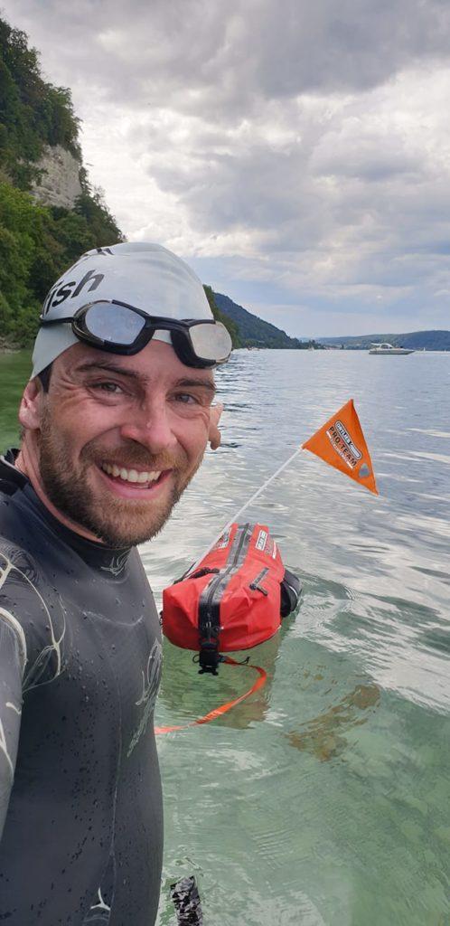 Jonas Deichmann Schwimmen