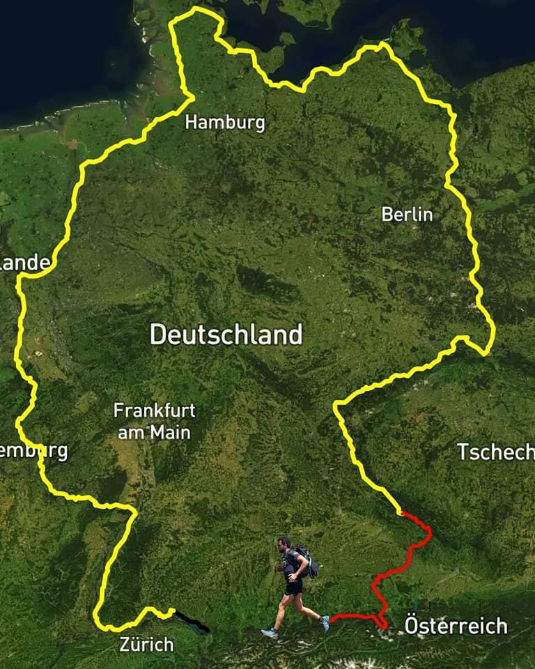 Triathlon rund um Deutschland