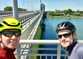 Florian und André Bikepacking Burgund (Worms)